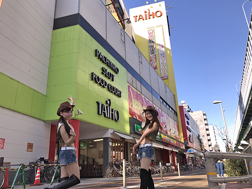 ガブガールズ来店レポート タイホウ熱田六番南店様