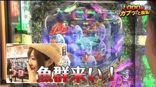 朝ガブッ!番外編 ひととせなつみと初のパチンコ実戦対決!